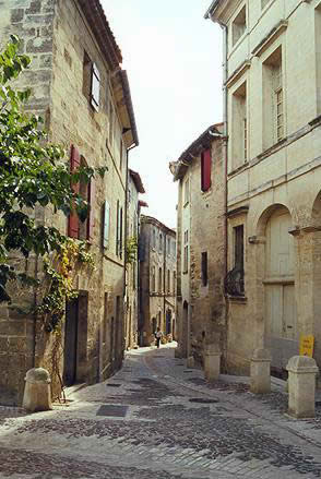 Just walking around Uzes is a delight